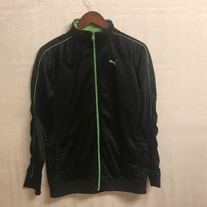 Boys Puma Track Jacket Size XL (size 16)